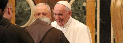 LA MINORIDAD LUGAR DE ENCUENTRO. Audiencia Papa Francisco